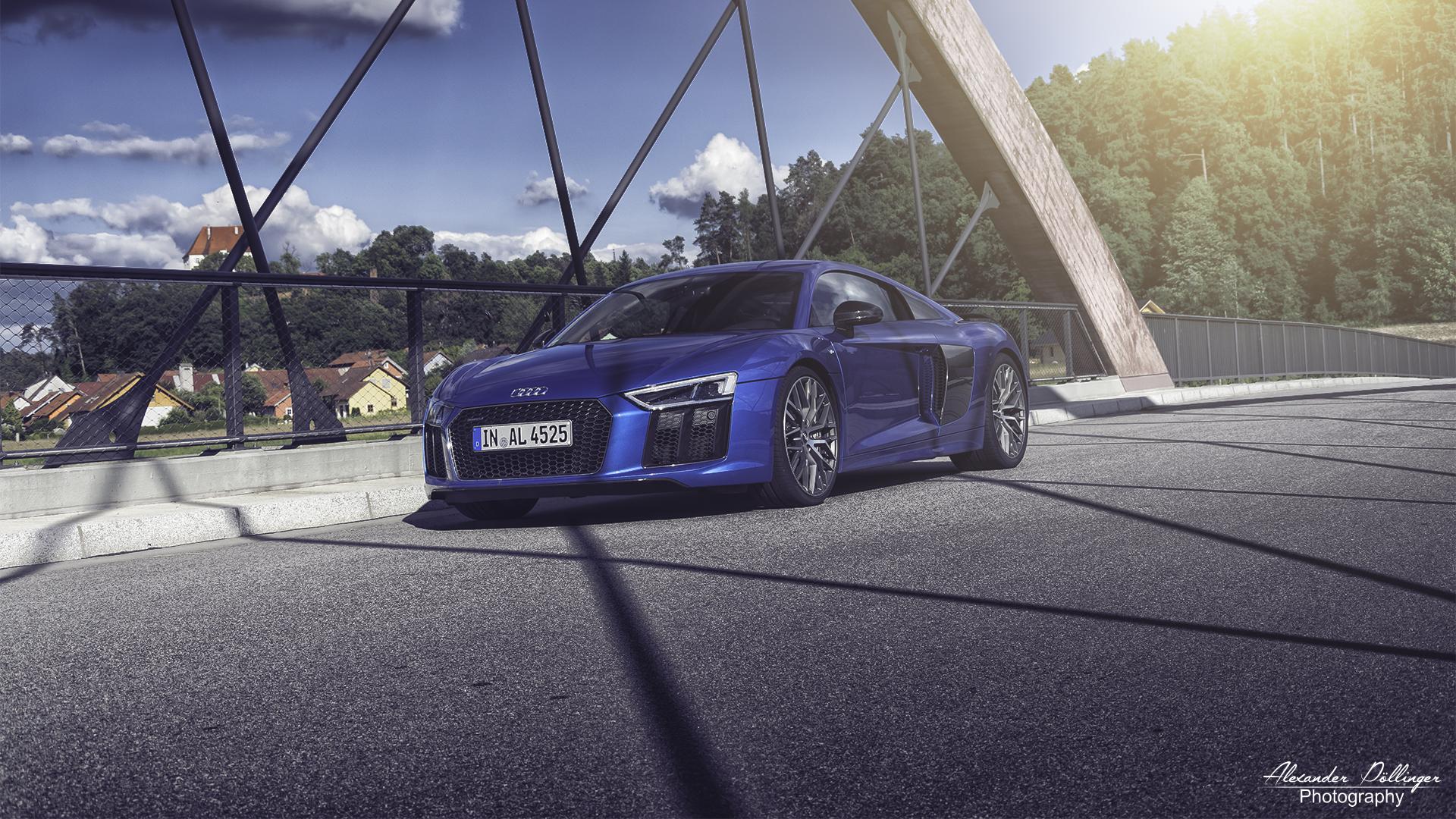 Audi Rs 3 Limousine Mysticblau Perleffekt Fotoshooting